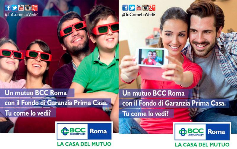 The Line Above N Below Comunicazione BCC La Casa del Mutuo Cover