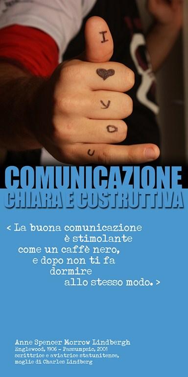 The Line Above 'N' Comunicazione 25
